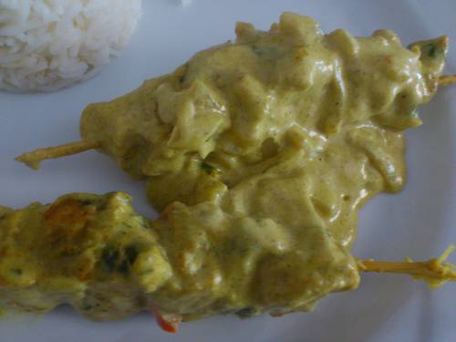 brochette de poulet curry coco.JPG