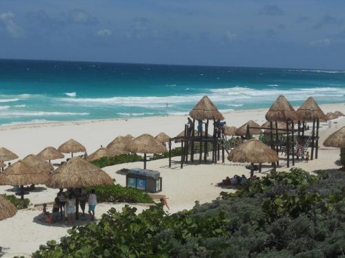 Plage à Cancun.JPG