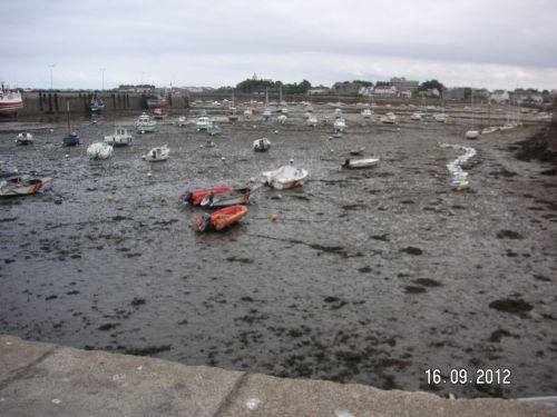Marée très basse à Roscoff