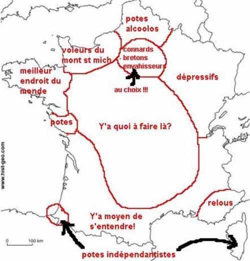 La France vue de la Bretagne