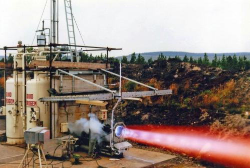 Spadeadam Cumberland  Rocket test establishment {géré par Rolls-Royce pour le compte du ministère de la technologie)..jpg