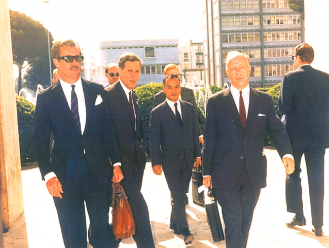 2 éme conférence spatiale européenne à Rome 1967.jpg