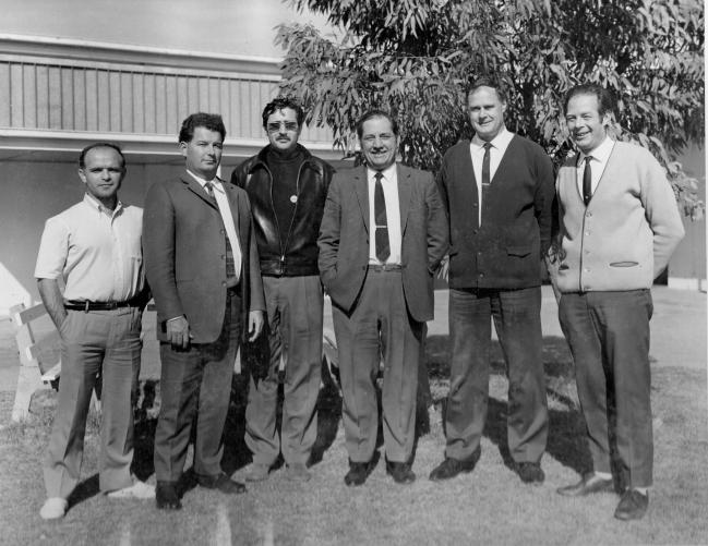 chefs d'équipe de chaque nation pour le tir F9 de 1970