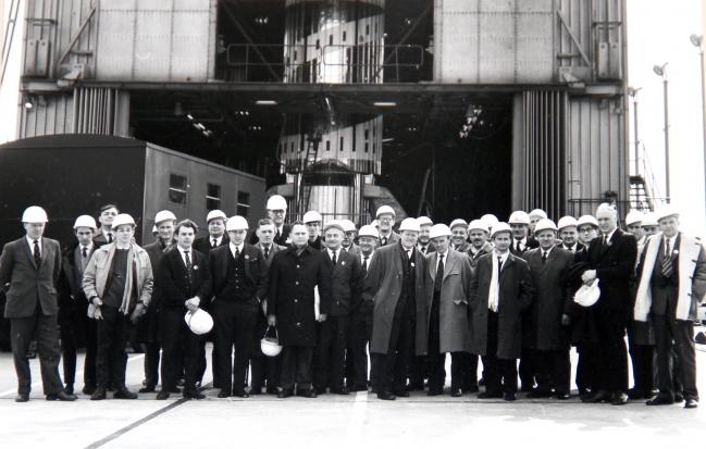 visite à Spadeadam du Blue Streak par la société interplanétaire britannique le 21 avril 1965