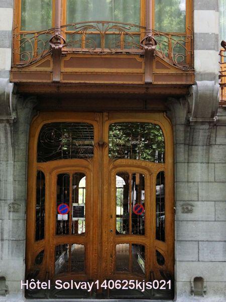 Art Nouveau : Résidence Solvay