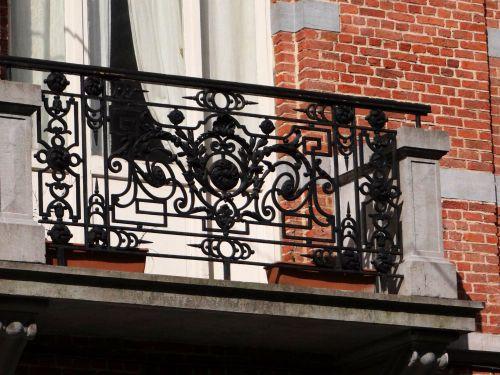 Balcon fer forgé