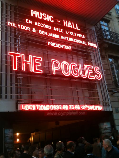 The Pogues @ Olympia 11/09/2012