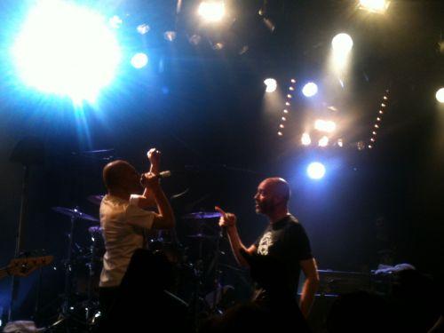Kémar & Reuno (No One is Innocent & Lofofora) @ EMB (Sannois), 20/10/12
