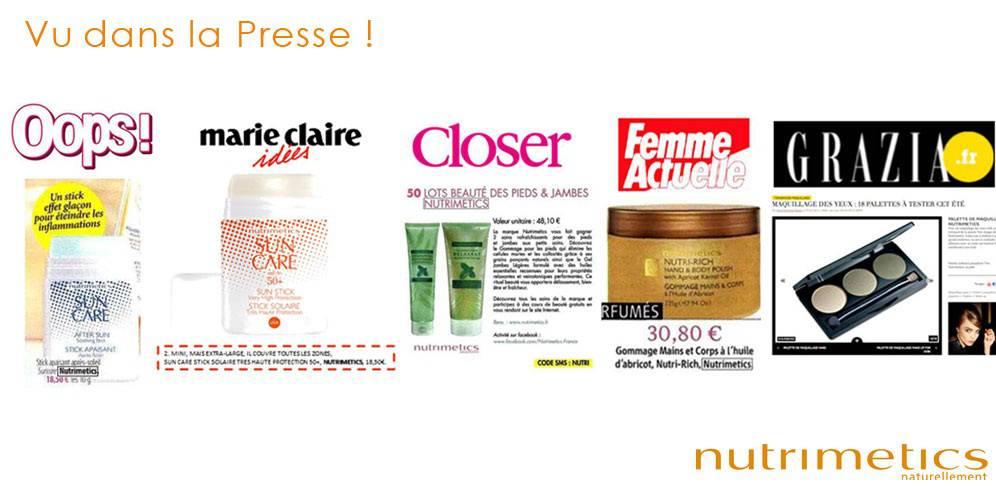 Nutrimétics France - produits ,conseils beauté et recrutement c37445fe30c3