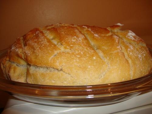 mise à l'honneur Karine st jo pain cocotte son homme très bon.JPG