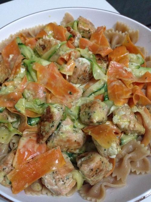 mise à l'honneur tagliatelles de légumes au saumon  Sèverine elisabeth l'été bon.jpg
