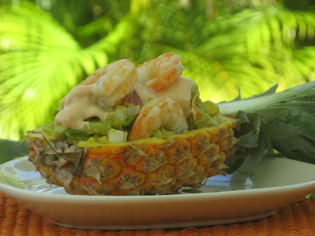 Salade exotique patio 39 nnement cuisine for Koi y mange zordi