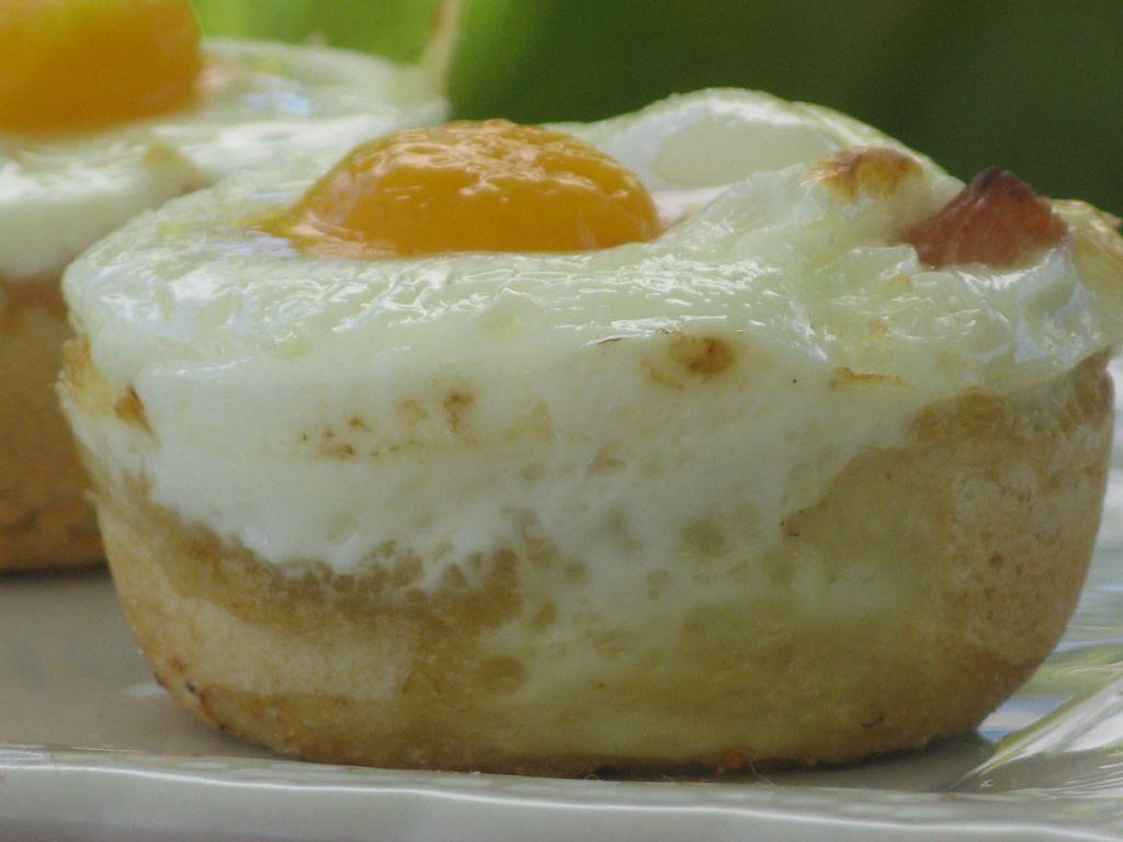 Panier d 39 oeuf et jambon au fromage patio 39 nnement cuisine for Idee repas leger soir entre amis
