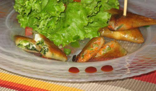 Samoussas aux légumes