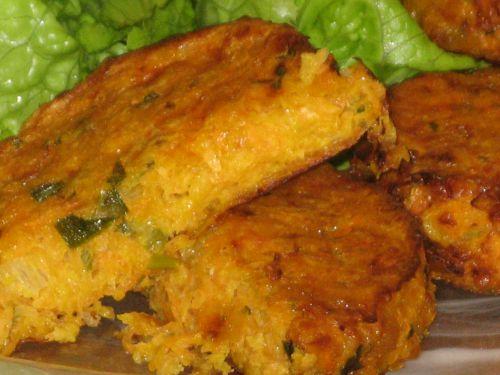 Galettes de carottes au cumin et fromage