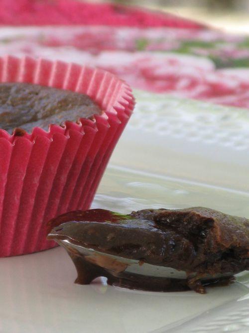 Coulant au chocolat coeur caramel