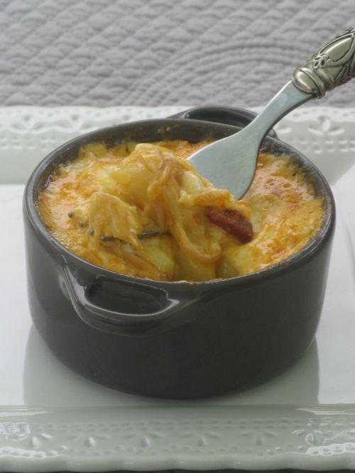 Tartiflette espagnole au fromage à raclette