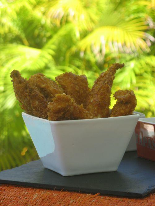 Nuggets aux corn flakes