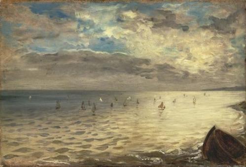 Eugène Delacroix La mer vue des hauteurs de Dieppe musée École du Louvre.jpg