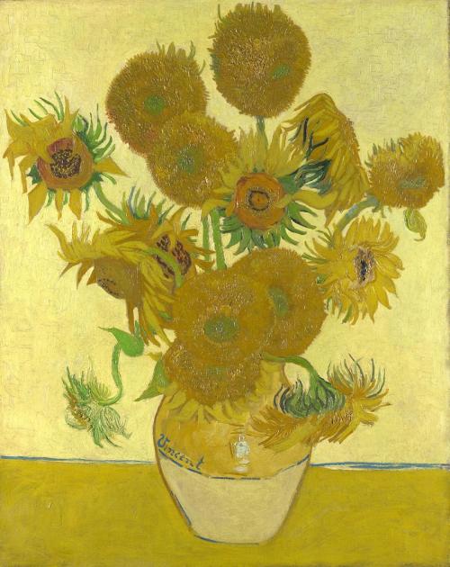 Vase avec quinze tournesols (Arles août 1888). National Gallery Londres Angleterre..jpg