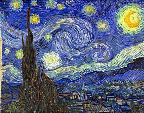 Vincent Van Gogh la Nuit Etoilée.jpg