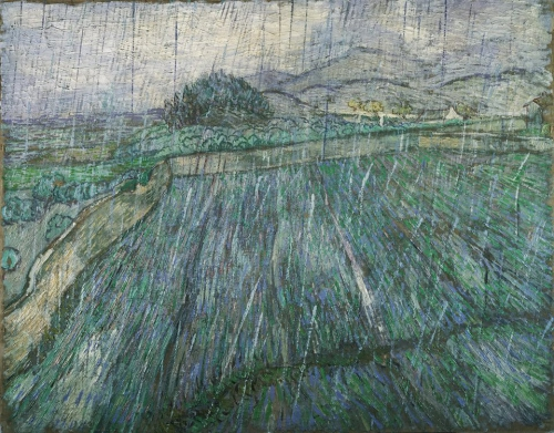 Vincent Willem van Gogh (1853 - 1890) Rain 1889.jpg