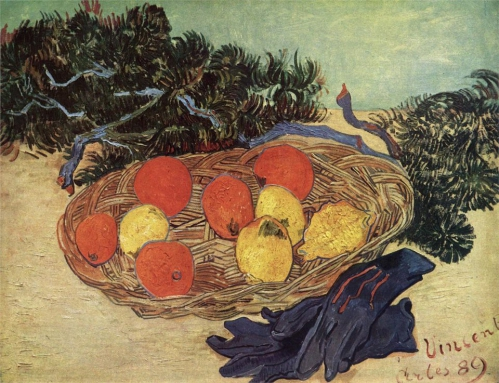 Vincent van Gogh. Still Life with Oranges and Lemons with Blue Gloves 1889.jpg