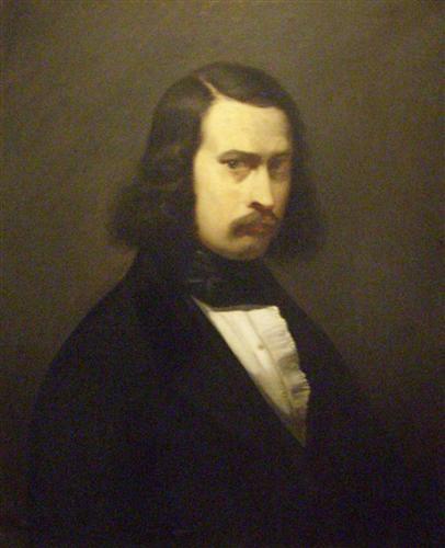 Jean-François Millet - Autoportrait - 1841 - Musée Thomas Henry de Cherbourg.jpg