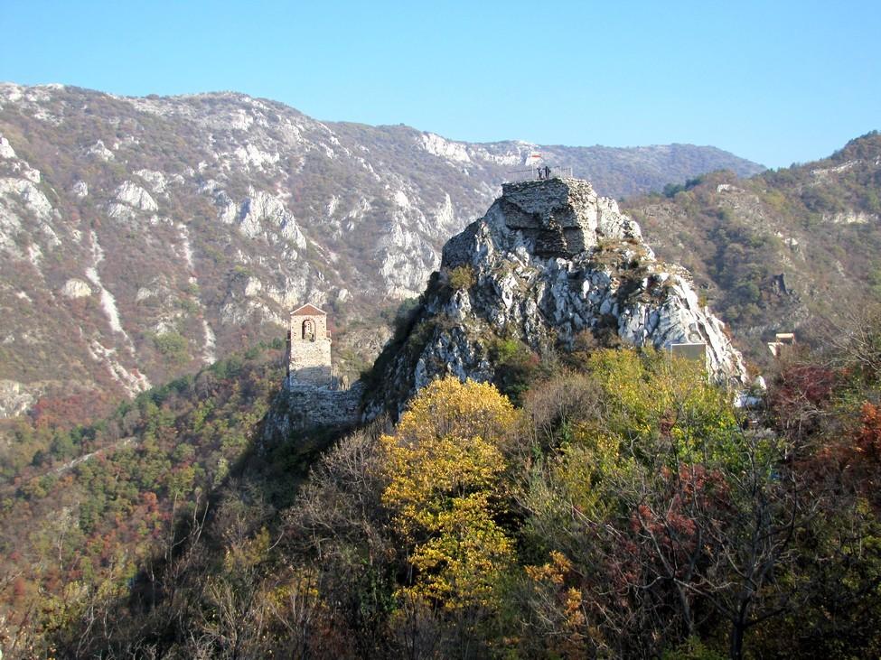 Asen's fortress - България (Bulgaria) 06.JPG