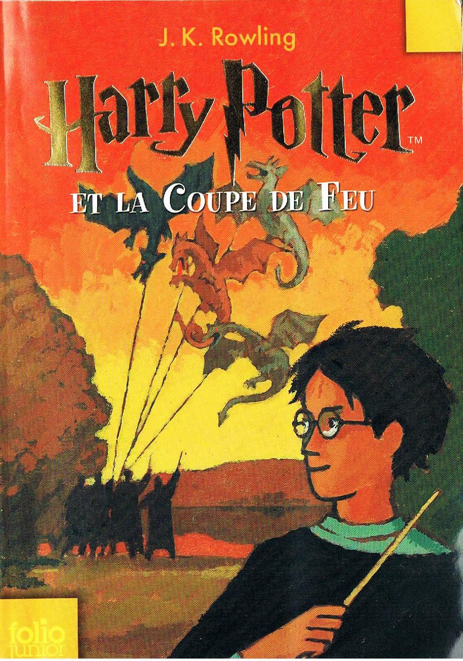 Livre harry potter et la coupe de feu de j k rowlings - Harry potter et la coupe de feu bande annonce vf ...