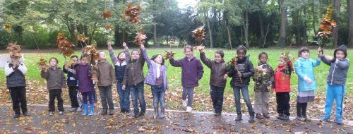 Créer au jardin - Classe de CP-CE1 - Mme Wirtz