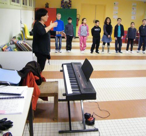 Chant-Musique avec Catherine Oudot
