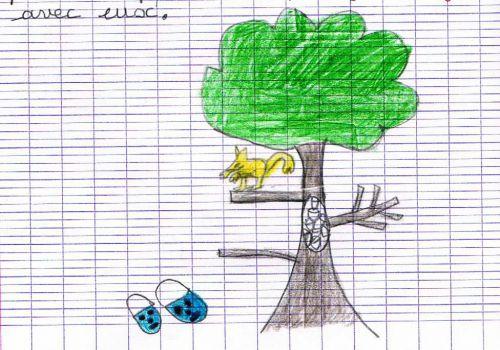 Les dessins d'Angèle - CE1 - 2012