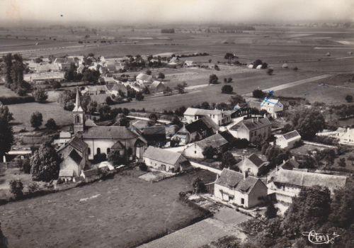 Quetigny - Eglise, dans les années 1950-1960