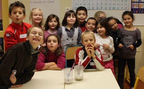 Pâtisserie dans la classe de Mme Boni - Décembre 2012