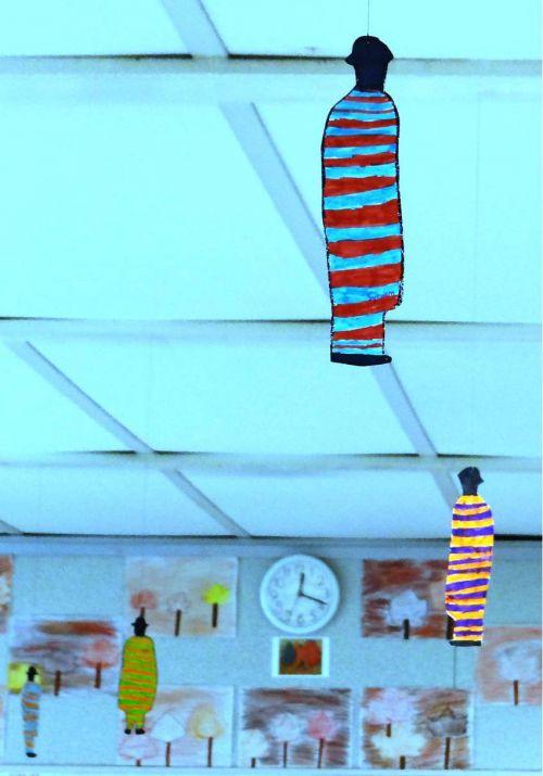 CP - Mme Laurent - Magritte au plafond