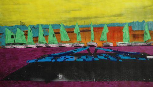 Classe de voile - Arc-sur-Tille - 17-05-2013 -  Vision artistique