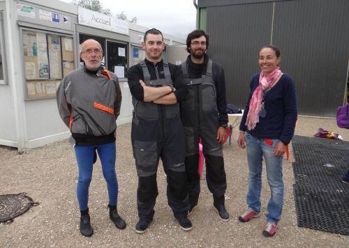 Classe de voile - Arc-sur-Tille - 17-05-2013 - Equipe d'encadrement