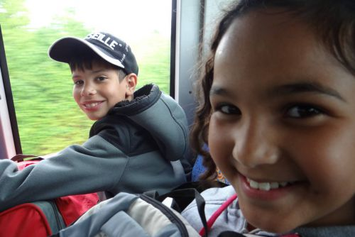 Classe de voile - Arc-sur-Tille - 17-05-2013 - Bus du retour