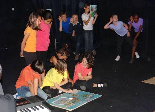 Théâtre CM1 - Aventure à Teotihuacan - 13 juin 2013