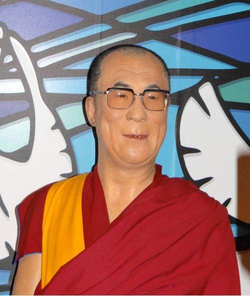 Londres - London - Musée de Mme Tussaud - Dalaï Lama