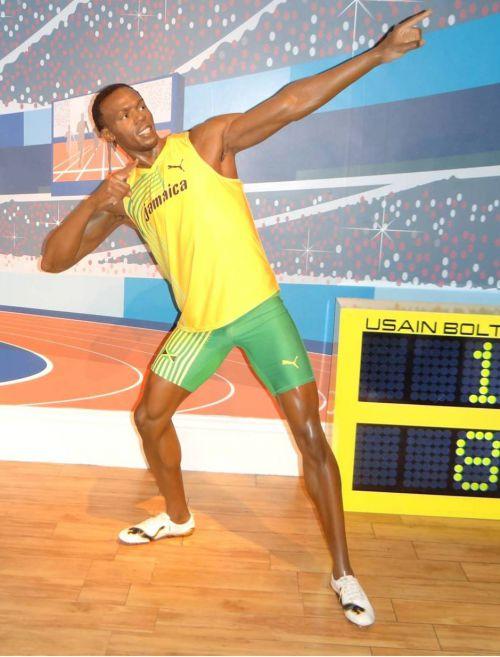 Londres - London - Musée de Mme Tussaud - Usain Bolt