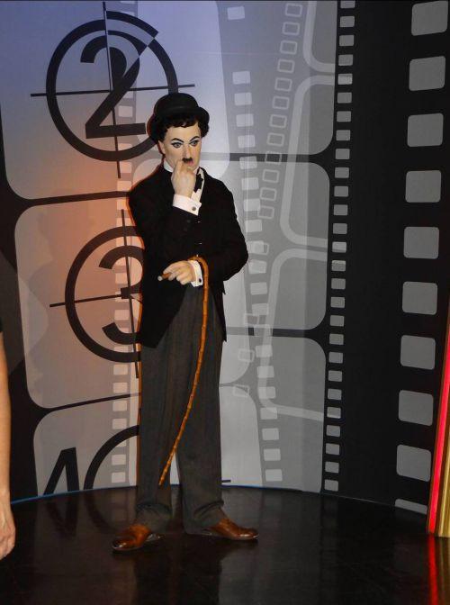 Londres - London - Musée de Mme Tussaud - Charlie Chaplin