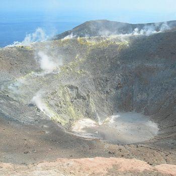 Volcan italien - fumerolles