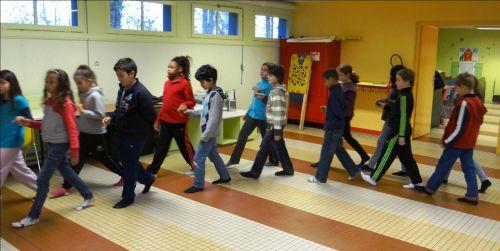 Répétition à l'école avec Benoît Teinturier 01