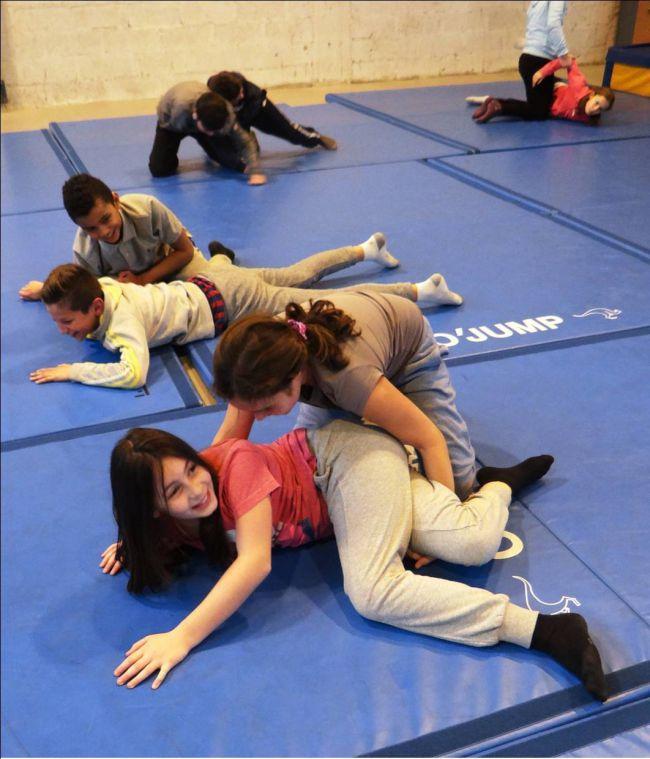 Education Physique et sportive avec les étudiants du STAPS - Novembre 2015