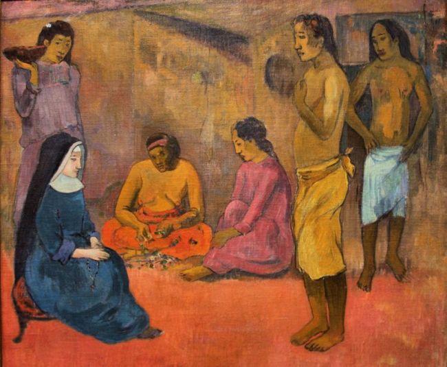 Paul Gauguin - La soeur de Charité
