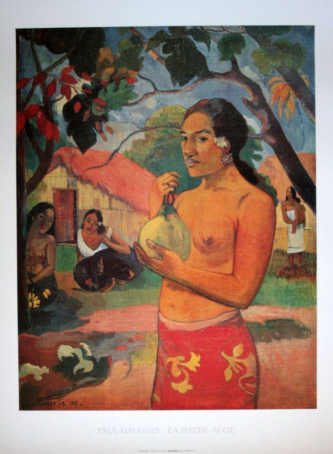 Paul Gauguin - Eahaereaioe