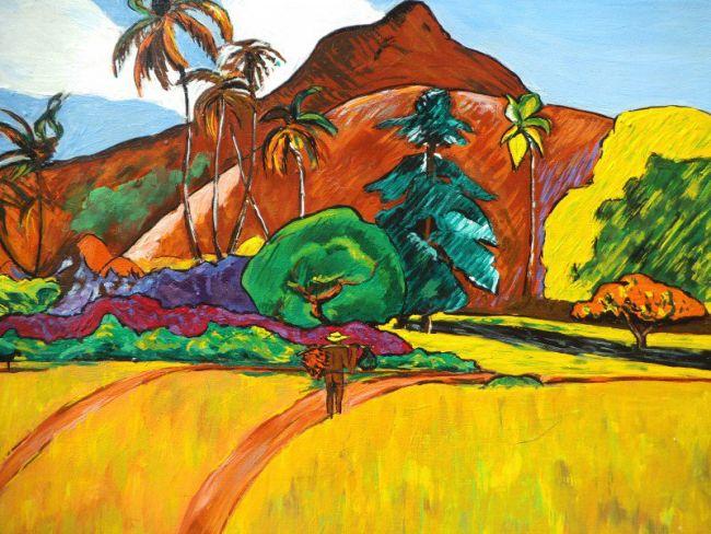 Paul Gauguin - Paysage tahitien - 1891