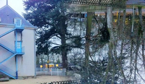 Ecole des Cèdres retravaillée avec Photo Filtre